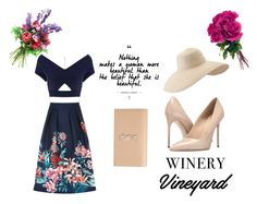 """keep it classy"" by bellatr on Polyvore featuring Oasis, Roland Mouret, Massimo Matteo, Yves Saint Laurent, Eric Javits, napa, winerywedding, bestdressedguest and vineyardwedding"