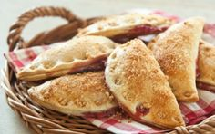Sweet and fruity hand pies dusted with cookie crumbs. Use premade pie crust dough or make our easy Classic Pie Crust. If you don't have a 5-inch cookie cutter, use a small bowl or make smaller pies.