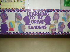 Great Leaders Seasonal Bulletin Boards, Great Leaders, Learning To Be, Seasons, Seasons Of The Year