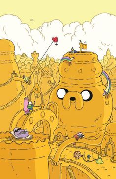 Adventure Time (Cover D) by Steve Wolfhard.
