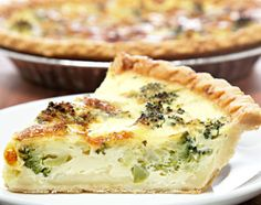 Quiche with Spring Veggies for Easter Brunch