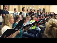 Choir Sings 'Be Still My Soul' After Oregon College Shooting - Inspirational Videos