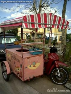 scooter food cart