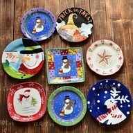 Ideas for painting ceramic pottery plates.