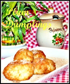 Addictive #Slovak Plum #Dumplings (Slivkove Knedle) - my #memories of childhood