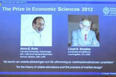 two americans win nobel memorial prize in economic sciences.