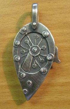 Locket made by a student on the Hidden Locket Master Class with Terry Kovalcik in August 2014 at the Cornwall School of Art, Craft and Jewellery.