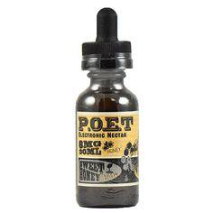 P.O.E.T Electronic Nectar Sweet Honey Cream - Vanilla, custard and honey.70% VG