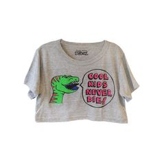 Cool Kids Crop Top ❤ liked on Polyvore featuring tops, crop tops, shirts and t-shirts