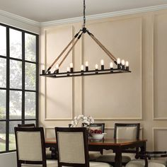 Gagny 14-Light Candle-Style Chandelier