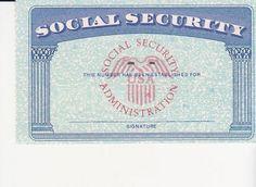 Social Security Card Template Photoshop New social Security Card Ssc Blank Color