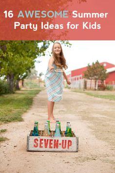 kids summer party ideas