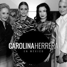 Carolina Herrera presenta una aventura de glamour en México. #bogamexico #mexico #moda #carolinaherrera #houseofherrera #fashion #mexicocity #oliviapalermo #ditavonteese #diannaagron #emilyvancamp #ciudaddemexico #runway #fashionshow #spring #ch #collection #show #dinner #gala #beautiful