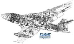 Vickers Valiant Cutaway Navy Aircraft, Military Aircraft, Vickers Valiant, Handley Page Victor, V Force, Nuclear Force, Avro Vulcan, The Valiant, Tecnologia