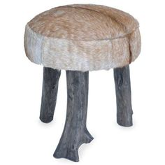 Solid wood stool with rustic leg. Available in black, charcoal, dark brown, driftwood leather and hide only. Click here to view all available swatches