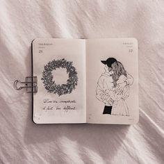 Inemouse art journal inspiration