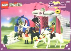LEGO Belville 5880 Prize Pony Stables. This was the only Belville I ever gotten, but my cousin had plenty so we could mix and play.