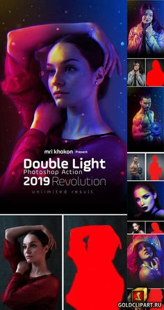 Double Light Photoshop Action 23135047 Photoshop PAT, Photoshop ATN, ZXP file | 12 Mb This action set has been developed for any type of cover design for e
