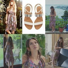 The same dress must with it's sandals Fashion Tv, Fashion Outfits, Womens Fashion, Turkish Fashion, Fall Wardrobe, Snsd, Famous People, Cool Style, Celebrity Style