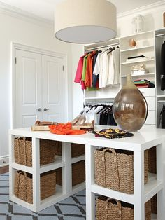 Walk-In Closet | Photo Gallery: Chic Closets  Dressing Rooms | House  Home | photo Stacey Brandford