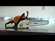Stihl ms 270 farm boss chain saw landscape maintenance filmed december 2011 in this video i show you how to install a more rugged bar and chain on the stihl 017 chainsaw greentooth Gallery