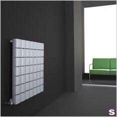 Wohnheizkörper elektrisch E-Floris - SEBASTIAN e.K. – Kunstwerk. –  Dank der vielen Heizplatten, die mosaikartig aufgebaut sind, genießen Sie eine gleichmäßige Wärme im ganzen Raum.  Quadratisch oder doch lieber im Hochformat? #living #interior #design #radiator