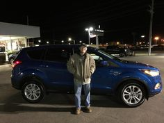DOUGLAS's new 2017 Ford Escape! Congratulations and best wishes from Kunes Country Ford Lincoln of Sterling and Chris Lansford.