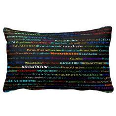 Krautheim Text Design I Lumbar Pillow
