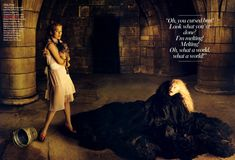 The Wizard of Oz | FASHION SPREADS Annie Leibovitz - Keira Knightley