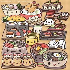 Kawaii Doodles, Kawaii Chibi, Kawaii Art, Kawaii Anime, Kawaii Illustration, Character Illustration, Kawaii Drawings, Cute Drawings, Web Comic