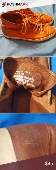 Frye men's high top shoes Frye men's high top shoes. Gently worn a few times. Frye Shoes Sneakers