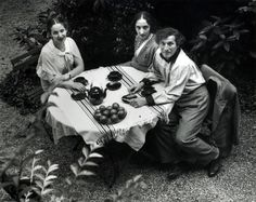 Marc Chagall and family, Paris 1933