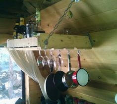 Rack for my cabin