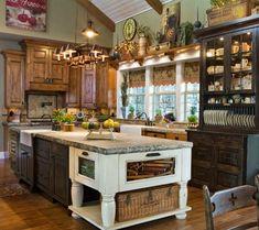 Primitive Kitchen-Love this.