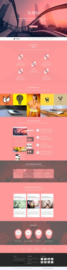 Sleek Multipurpose Website Part 4 by Tanvir ahmed fahim