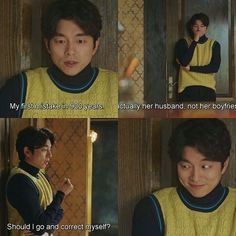 Goblin: the Lonely and Great God Korean Drama Funny, Korean Drama Quotes, Korean Drama Movies, Korean Actors, Korean Dramas, Goblin Kdrama Funny, Goblin Kdrama Quotes, Goblin Funny, Boys Over Flowers