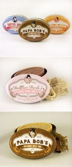 lather bee rich's soap packaging design