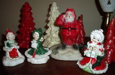 Eventually vintage: 1950's Christmas decorations