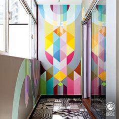 como expansion abierta y cerrada... con vinilos y piso reciclado. Todo disponible con Orbe estudio de arquitectura y diseño. facebook.com/ORBEARQ