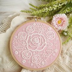 "Anna on Instagram: ""@girls.embroidery #embroidery #handembroidery #вышивка #자수 #embroiderypattern #craft #diygift #diy #handmade #handstitched #Needlecraft…"""