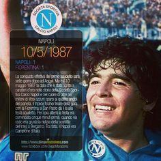 'Na ser 'e Maggio ♡ 1987 ♡  #ForzaNapoliSempre #NapoliCampione #Maradona