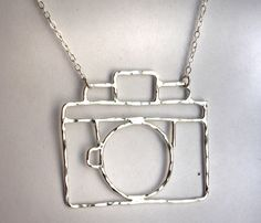 Old Fashioned Camera Necklace @ lisa youngblood
