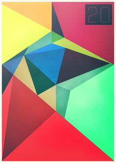 color, geometry, and minimalistic type