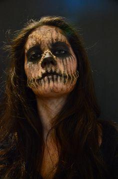 Scarecrow #halloween #sfx #makeup #costume