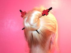 ::Hair Chop Sticks:: - Nurse cross