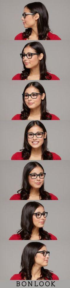 69619e5208d07 Square Fashion Eyeglasses Frames - Jungle Chic   BonLook Lunettes, Cadres