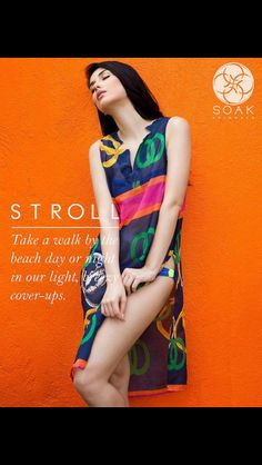 Summer is here!! Lovely coverups available online now! www.soakswimwear.multiply.com/products
