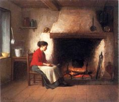 Platt Powell Ryder - By the Hearth