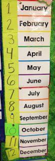 My First Grade Backpack: Calendar Math