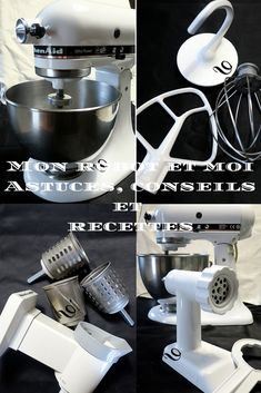 Cooking Chef, Kitchen Aid Mixer, Pain, Robots, Food, Dessert Recipes, Pastries, Kitchenaid, Cooking Supplies